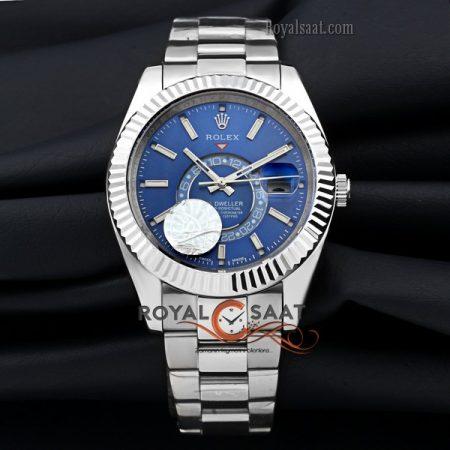 Rolex Sky Dweller Mavi Kadran