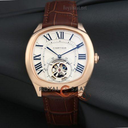 Cartier Roze Turbilon Yeni Model