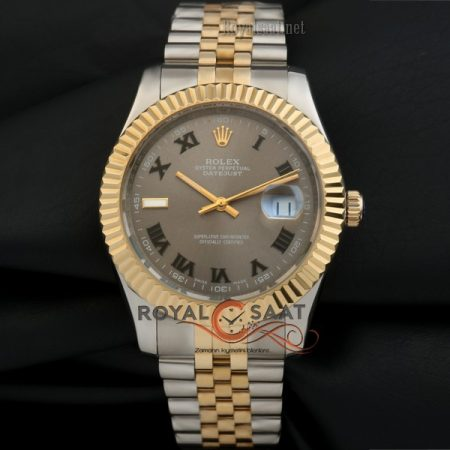 Rolex Oyster perpetual Datejust Jubile kordonlu 5