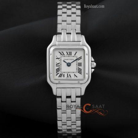 Cartier Panthere Bayan Kol Saati Gümüş