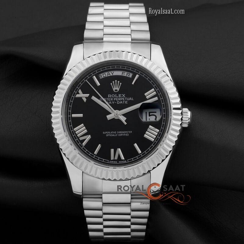 Rolex Day-Date Siyah Kadran R-484