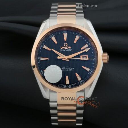 Omega Seamaster co-axial Gold-Gümüş